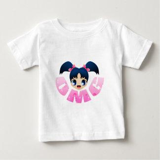OMGの女の子 ベビーTシャツ