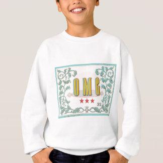 OMGの…ヴィンテージは写実的な表現のスタイルを作りました スウェットシャツ