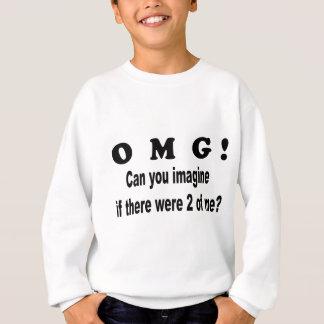omgは2ofを私想像します スウェットシャツ