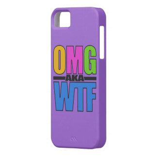 OMG別名WTFのカスタムなiPhoneの場合 iPhone SE/5/5s ケース