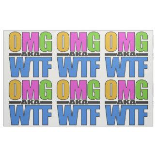 OMG別名WTFの習慣の生地 ファブリック
