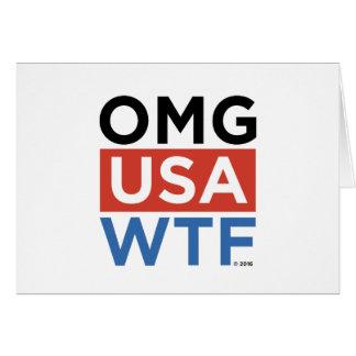 OMG米国WTF カード