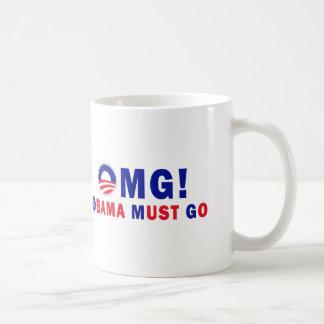 OMG! オバマは行かなければなりません! コーヒーマグカップ