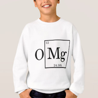OMG -マグネシウム- Mg -周期表 スウェットシャツ