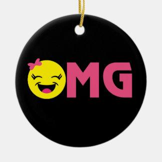 OMG Emojiのかわいこちゃん セラミックオーナメント