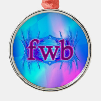 OMG! fwb メタルオーナメント