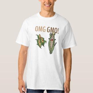 OMG GMO! トウモロコシ Tシャツ