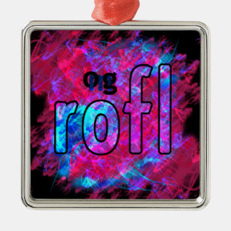 OMG! rofl メタルオーナメント