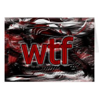 OMG! wtf カード