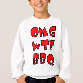 OMG WTF BBQ スウェットシャツ