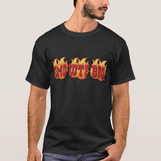 OMG WTF BBQ Tシャツ