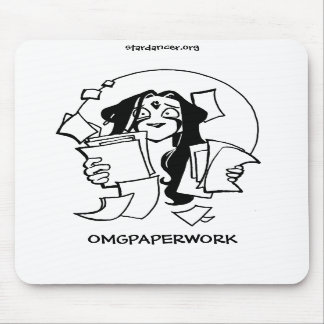 OMGPAPERWORKのマウスパッド マウスパッド