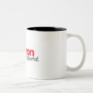 OmicronのMotorsportのマグ ツートーンマグカップ