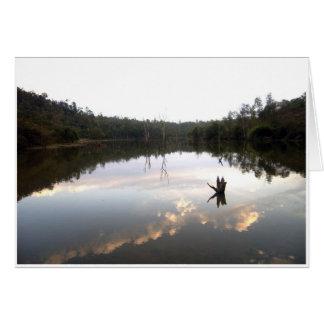 Omkoi湖 グリーティングカード