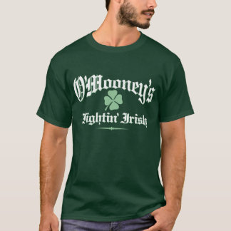 O'Mooneyのfightinのアイルランド語 Tシャツ
