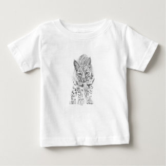 On the Prowl A Young Bobcat ベビーTシャツ