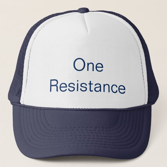 One Resistance キャップ