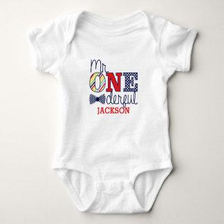 ONEderful Babyジャージー氏のボディスーツ ベビーボディスーツ