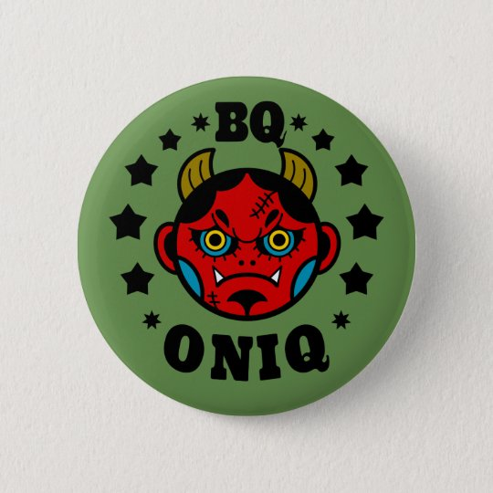 ONIQ Button badges 5.7cm 丸型バッジ