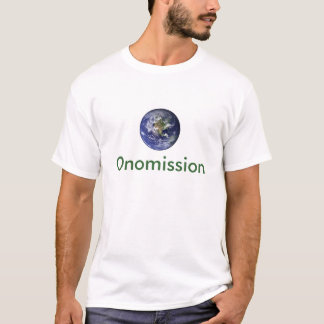 OnomissionのTシャツ-ボーカリスト Tシャツ