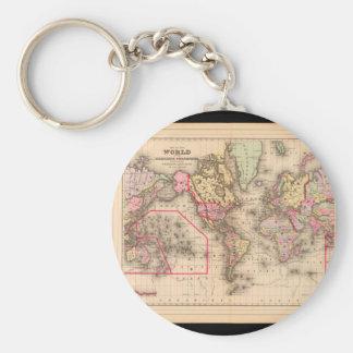 onsの世界地図21を得ること キーホルダー