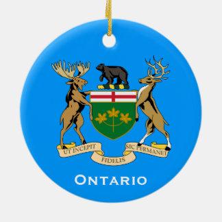 Ontario*のクリスマスのオーナメント セラミックオーナメント