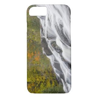 Ontonagonの中間のフォークのとらわれの滝 iPhone 7ケース