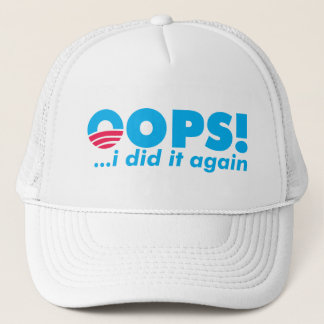 OOPS! 私はそれを再度おおいます帽子をしました キャップ