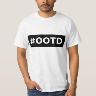 #ootd tシャツ