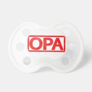 Opaのスタンプ おしゃぶり