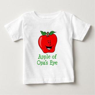 Opaの目のApple ベビーTシャツ