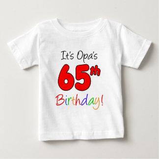 Opaの第65誕生日 ベビーTシャツ