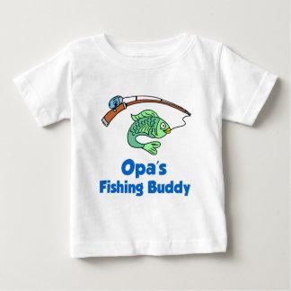 Opaの魚釣りの相棒 ベビーTシャツ