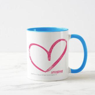 OpenHeartのマゼンタ マグカップ