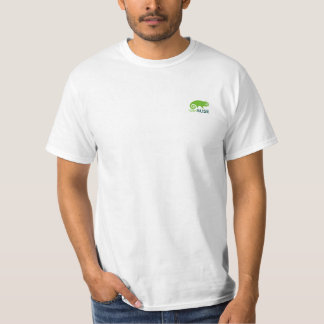 OpenSUSEの白のTシャツ Tシャツ
