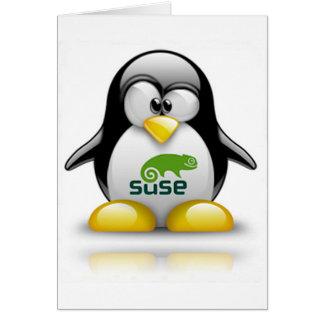 openSuzieのLinuxのロゴ カード