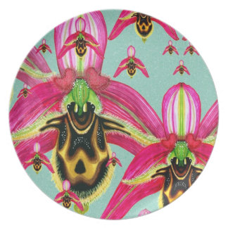 Ophrysのcornutula プレート
