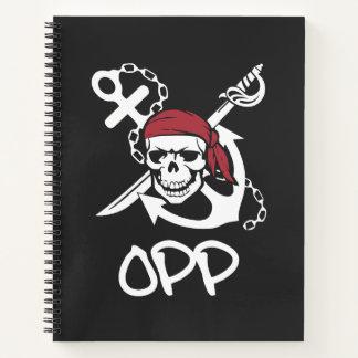 OPP |の螺線形ノート ノートブック
