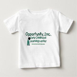 Opportunity、Inc.の乳児のTシャツ ベビーTシャツ