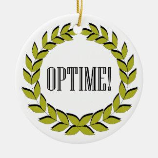 Optime! すばらしい仕事! セラミックオーナメント
