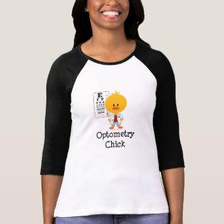 OptometryのひよこのRaglanのTシャツ Tシャツ