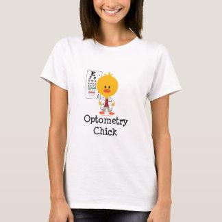 OptometryのひよこのTシャツ Tシャツ