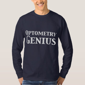 Optometryの天才ギフト Tシャツ