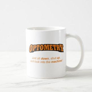 Optometry/機械 コーヒーマグカップ