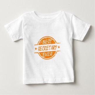 Orange最も最高のな秘書 ベビーTシャツ