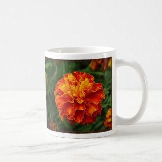 Orange_yelのflower_ml コーヒーマグカップ