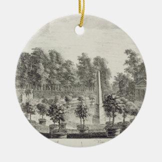 Orangery、バーリントン主の庭aの眺め セラミックオーナメント