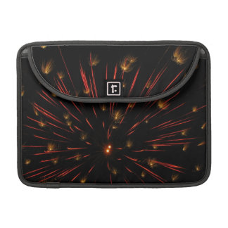 Orangleのフラッシュおよびきらめき MacBook Proスリーブ