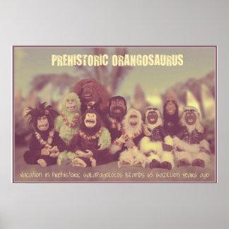 Orangosaurusポスター ポスター