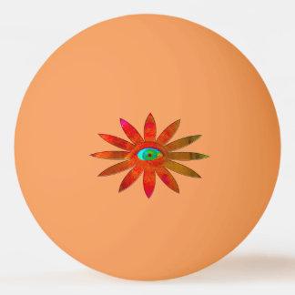 Orangyの目の花 卓球ボール